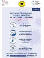 COVID19 - SE PROTÉGER ET PROTÉGER LES AUTRES